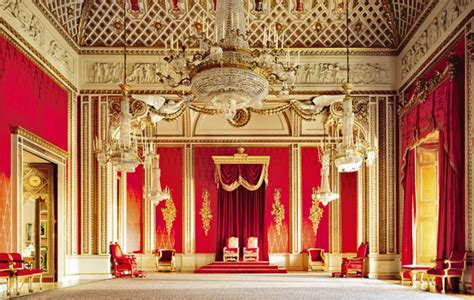 buckingham palace throne room royal real estate inside buckingham palace royal wedding reception site ny daily news