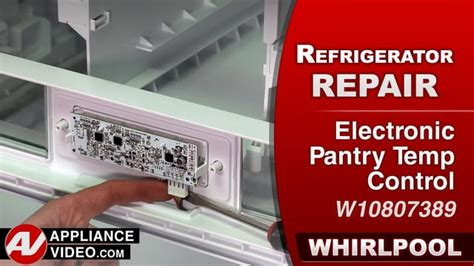Pantry Temperature by Whirlpool Wrf757sdem Refrigerator Appliance