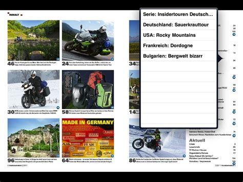 Motorrad Magazin App by Tourenfahrer Jetzt Auch Als App Ausgabe Feuerstuhl