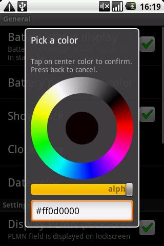 android color picker android modified colorpicker dialog error stack overflow