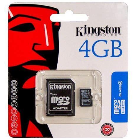 Kingston Micro Sd 4gb tarjeta de memoria microsd 4gb kingston gt informatica