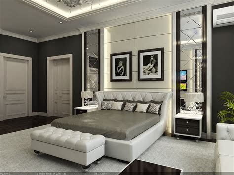 interior master bedroom  model