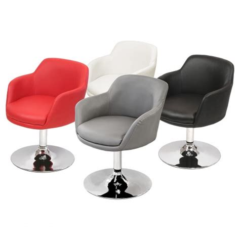 leather swivel dining chairs bucketeer swivel dining chair