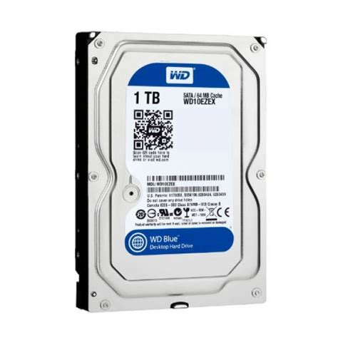 Harddisk Wd 1tb 7200rpm western digital wd blue 1 tb 3 5 quot drive sata 600 7200 rpm 64 mb buffer