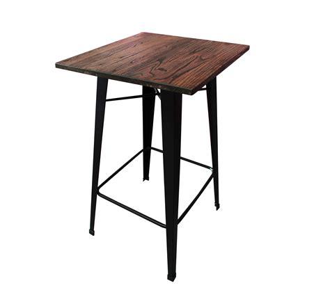 mesa periquera bolton metalica tipo industrial diseno