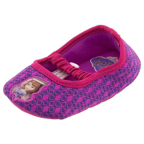 purple ballet slippers sofia the purple ballet flat slippers for toddler