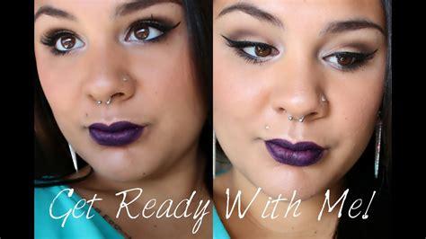 Lipstik Nyx Simply V grwm get ready with me ft nyx simply v lip color