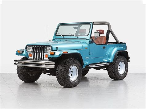Jeep Wrangler Models By Year Jeep Wrangler All Modifications Registered Model Year 1995