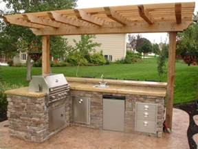 outdoor kitchens ideas 17 best ideas about simple outdoor kitchen on