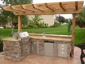 17 best ideas about simple outdoor kitchen on pinterest diy outdoor
