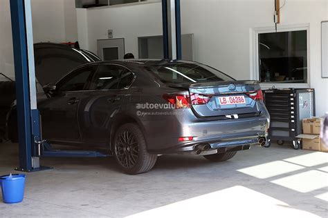 nearest lexus garage spyshots lexus gs f captured in germany autoevolution