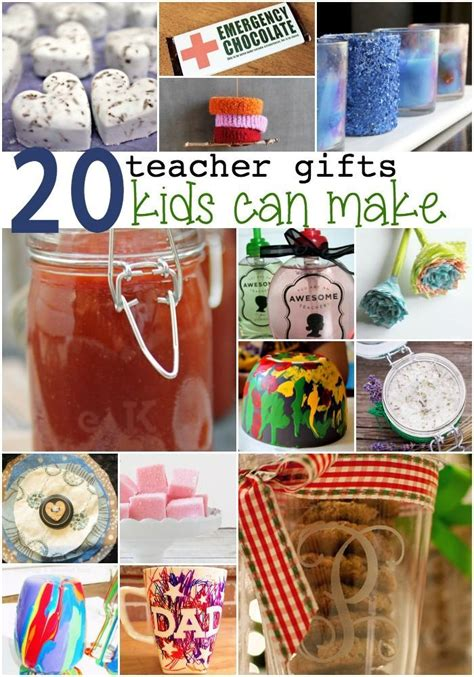 Handmade Gifts For Teachers - 20 gifts for teachers can make
