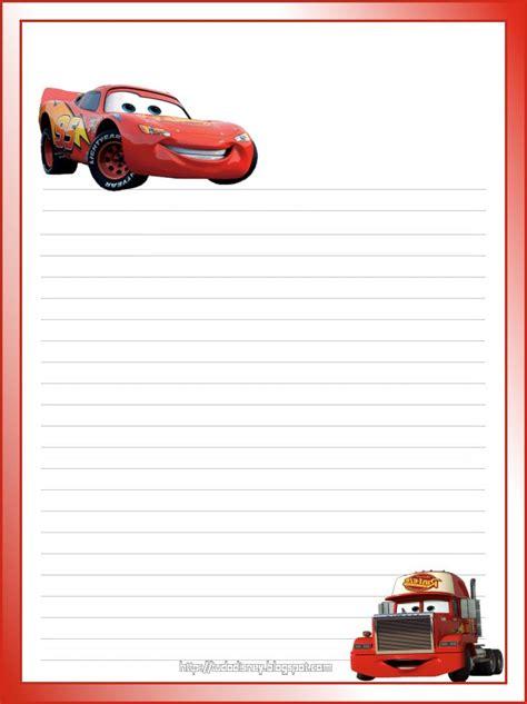 Stationary Cars 2 pap 233 is de carta da disney princesas carros sininho para imprimir papel de carta imprimir e