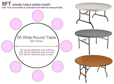 round banquet table sizes best new round banquet tablecloths residence ideas