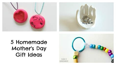 homemade mothers day gifts 5 homemade mother s day gift ideas the write balance