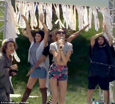 Backyard Bash Party Ideas Kim Kardashian S Daughter North Celebrates First Birthday
