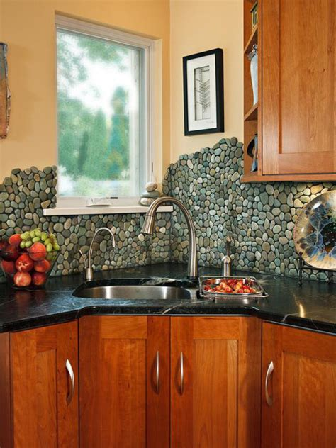 unique backsplashes for kitchen eye candy 11 totally unique diy kitchen backsplash ideas