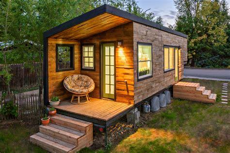 autarkes minihaus wie transportiert ein tiny house der trend aus den