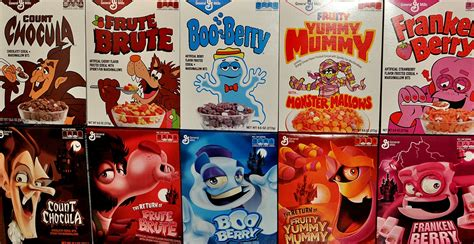 fruit brute cereals the return of mummy and fruit