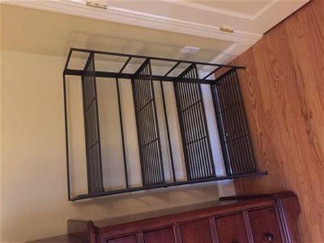 3 shelf iron folding bookcase 4 shelf iron folding bookshelf the container store