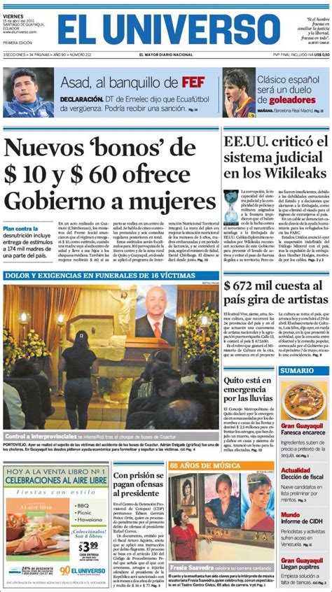 noticias en ecuador opiniones de ultimas noticias ecuador