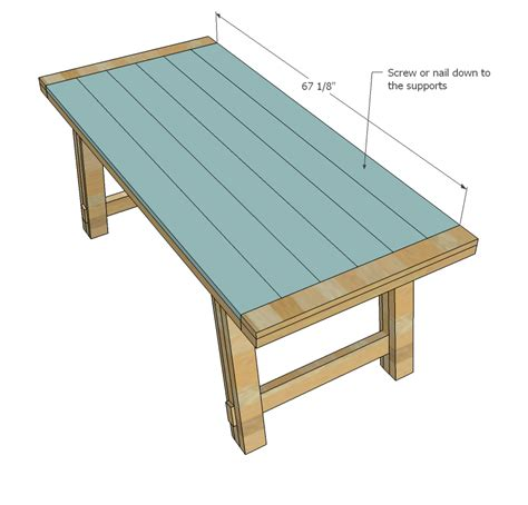 pdf diy rustic wooden table plans roycroft