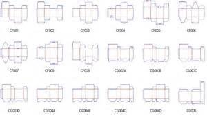 packagingbox corrugated folding carton box templates 19