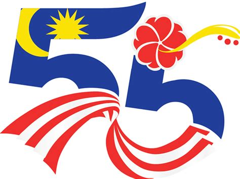 design logo online malaysia malaysia 55th independence day commemorative sts on