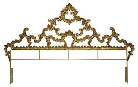 hollywood regency headboard vintage gold hollywood regency king headboard modern