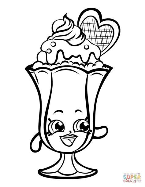 shopkins coloring page suzie sundae free shopkins