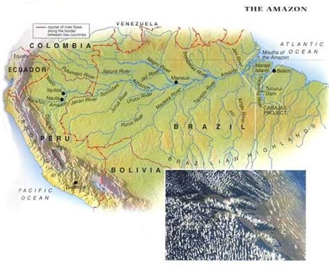 amazon map ahoy mac s web log the top ten rivers of the world