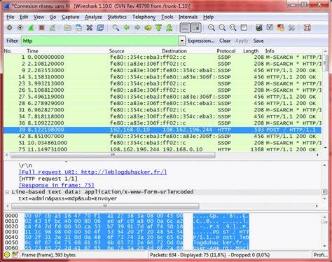 tutorial wireshark mot de passe trouver un mot de passe via le r 233 seau avec wireshark