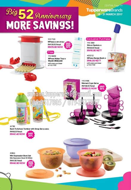 Mini Expression Bowl tupperware brands malaysia catalogue collection