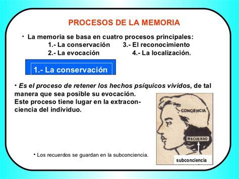 la memoria de los la memoria