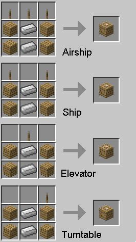 Ideen Bad 3470 by How To Make Items In Minecraft Zeppelin 1 2 5 Mod