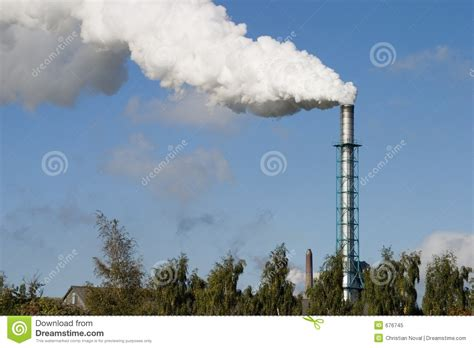 chimney and smoke stock image image of smoke white