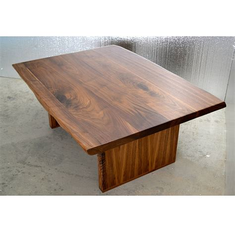 walnut coffee table walnut coffee table by boxcar notonthehighstreet com