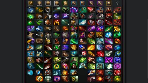 Dota 2 Giveaways - dota 2 enhanced item icons radiant dire with mana cost treads switching