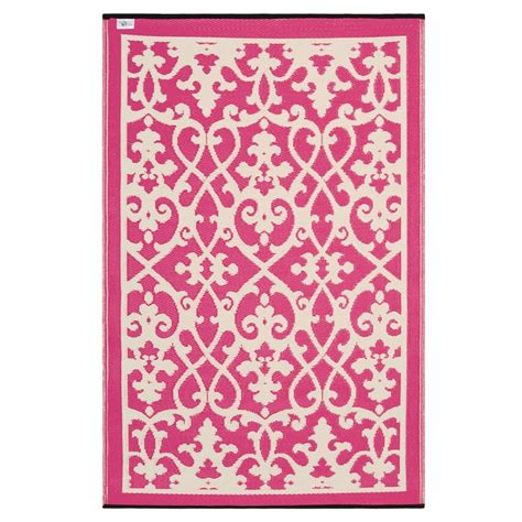 Pink Indoor Outdoor Rug Prater Mills Indoor Outdoor Reversible Pink Rug
