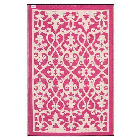 Pink Outdoor Rug Prater Mills Indoor Outdoor Reversible Pink Rug