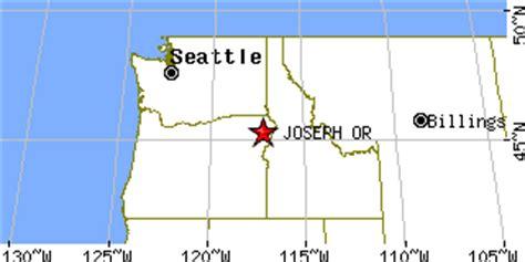 map of joseph oregon area joseph oregon or population data races housing