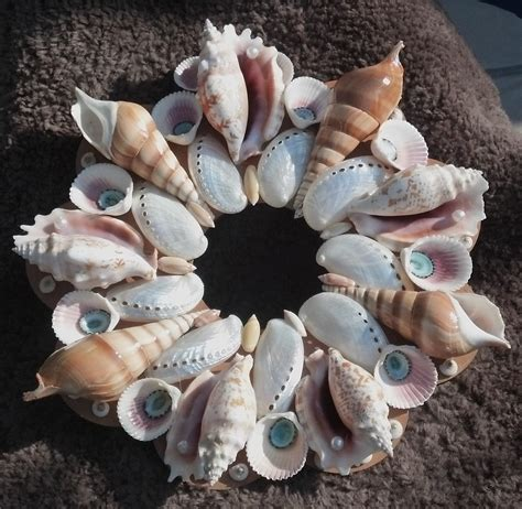 Picture Seashell Wreath : Fun Things to Do With Seashell