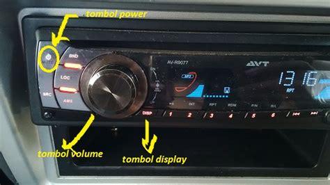 format video pada tape mobil cara setting jam pada tape mobil merk avt setia1heri com