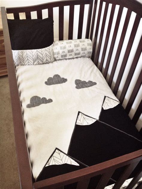 Black And White Boy Crib Bedding 17 Best Images About Scandinavian Nordic Childrens Rooms On Pinterest Cloud Pillow Childs