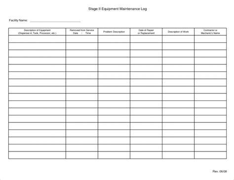autoclave log template template log sheet template