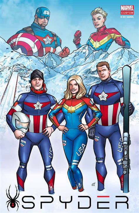 fabulous fireworks disney themed usa team wins olympian mikaela shiffrin is captain marvel in winter