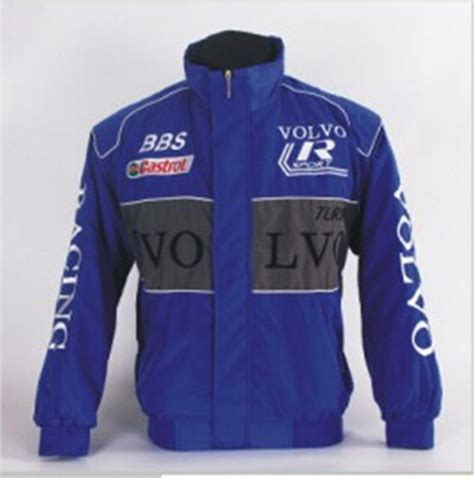 embroidery brand car smock volvo  motocross jacket long sleeved auto road clothes