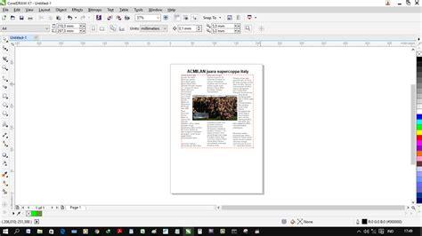 cara membuat layout koran dengan coreldraw membuat layout koran dengan coreldraw membuat desain