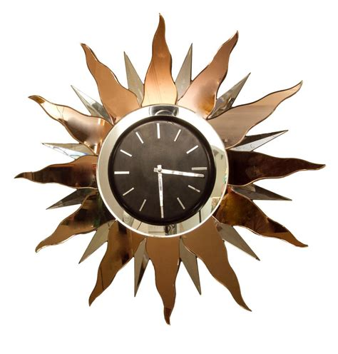 art wall clock large art deco wall clock 1930s for sale at pamono