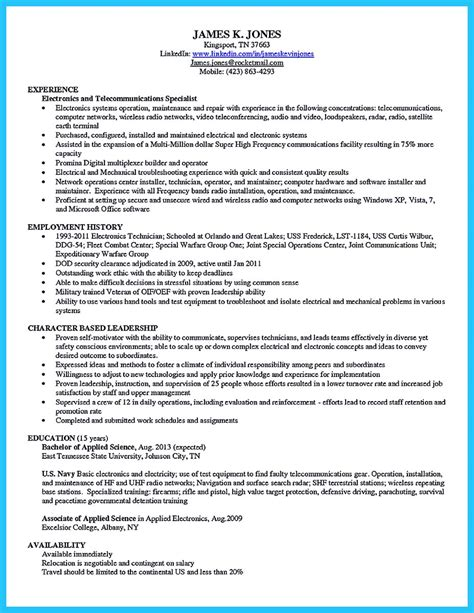 Cable Installer Resume by Cool How To Make Cable Technician Resume That Is Really Check More At Http Snefci Org